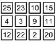 Juego 25 Boxes