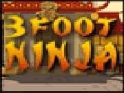 Juego 3 Foot Ninja