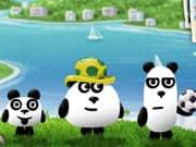 Juego 3 Pandas en Brasil - 3 Pandas en Brasil online gratis, jugar Gratis