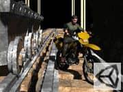 Juego Acrobacias en la Mina en Moto Cross