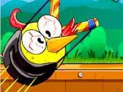 Juego Angry Bird Disparador