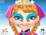 Juego Anna Frozen Dibujo en el Rostro