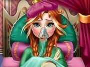 Juego Anna Frozen Flu Doctor