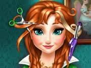 Juego Anna Frozen Real Haircuts