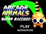 Juego Arcade Animals 3 : Super Racoon