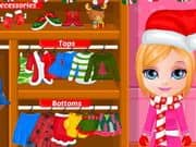 Juego Baby Barbie Christmas Prep