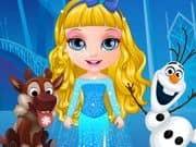 Juego Baby Barbie Frozen Costumes