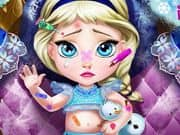 Juego Baby Elsa Injured