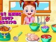 Juego Baby Emma Soup Recipe