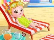 Juego Baby Hazel At Beach
