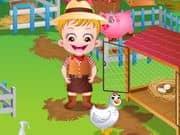 Juego Baby Hazel Farm Tour