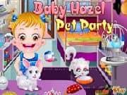 Juego Baby Hazel Fiesta de Mascotas