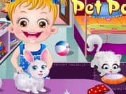 Juego Baby Hazel Pet Party