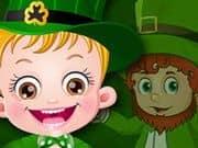 Juego Baby Hazel St Patricks Day