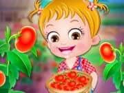 Juego Baby Hazel Tomato Farming
