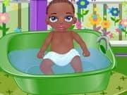 Juego Baby Jamal Bathing