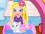 Juego Baby Sofias White Kitty