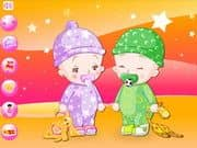 Juego Baby Twins Dress Up