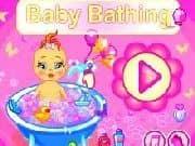 Juego Bañar a Bebe