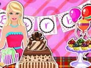 Juego Barbi Birthday Party