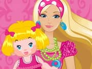 Juego Barbie Baby Sitter
