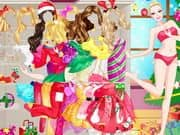 Juego Barbie Christmas Princess