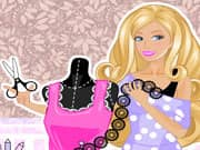 Juego Barbie Estilista de Vestidos