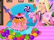 Juego Barbie Ice Cream Decorating
