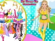 Juego Barbie Motor Model Dress Up