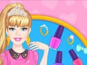Juego Barbie Nueva Manicura
