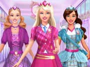 Juego Barbie Princess School Uniform