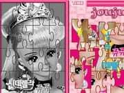 Juego Barbie Puzzle 3