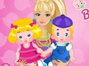 Juego Barbie Twins Babysitter