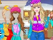 Juego Barbie Winter Shopping