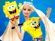 Juego Barbie amor a Bob Esponja