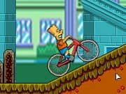 Juego Bart On Bike