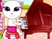 Juego Bebe Angela Toca Piano