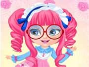 Juego Bebe Barbie Disfraces Manga