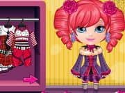 Juego Bebé Barbie Monster High Disfraces