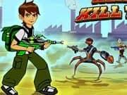 Juego Ben 10 Aliens Kill Zone