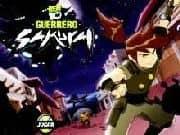 Juego Ben 10 Guerrero Samurai