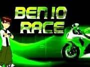 Juego Ben 10 Motobike Race