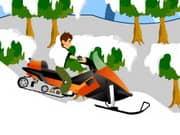 Juego Ben 10 Snowmobile