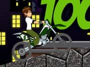 Juego Ben10 Bike Trip 2