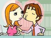 Juego Besos en la Oficina
