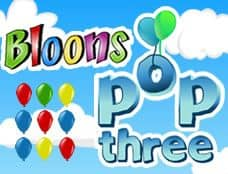 Juego Bloons Pop Three
