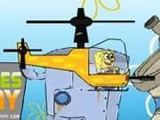 Juego Bob Esponja Helicoptero