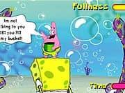 Juego Bob llena el balde de Patrick