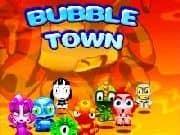 Juego Bubble Town