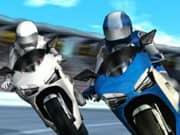 Juego Carrera de Motos Super Estrellas